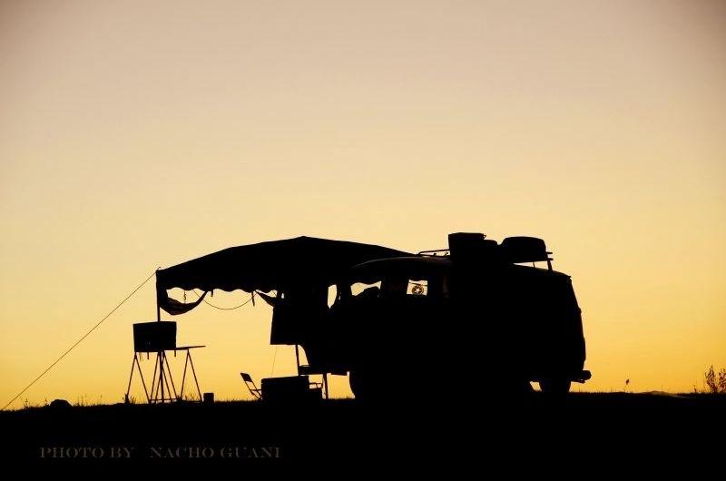 nacho guani atardecer en la kombi Imagenes del Uruguay Tomadas por el Fotógrafo Nacho Guani