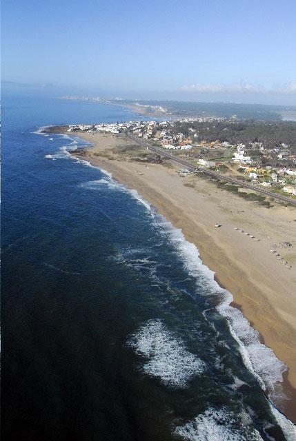 Costas del Este del Uruguay, fotografía tomada por Nacho Guani