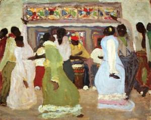 candombe de figari 300x238 El Candombe en Uruguay