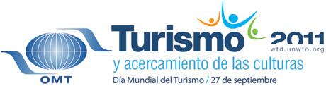 turismo logo Día Mundial del Turismo 2011: «Turismo y Acercamiento de las Culturas»