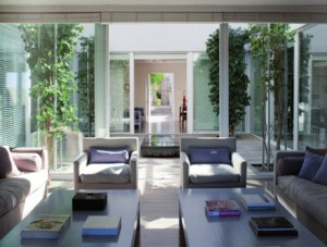 casa de campo patio interior ejemplo 300x227 Mi Casa en el Campo. Mi Casco de Estancia