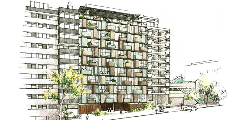 6 Sea Parte de un Proyecto Arquitectónico con Firma de Autor